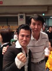 アントニオ小猪木 公式ブログ/演歌歌手の三善英史さんと 画像1