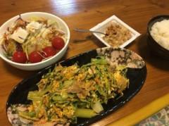 アントニオ小猪木 公式ブログ/夏の肉と野菜の料理! 画像1