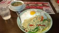 アントニオ小猪木 公式ブログ/タイ料理ランチ 画像1