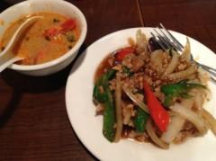 アントニオ小猪木 公式ブログ/仕事を終えてのタイ料理 画像1