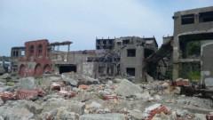 アントニオ小猪木 公式ブログ/廃墟の端島の中 画像1