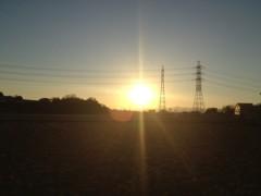 アントニオ小猪木 公式ブログ/新年の夕焼け 画像1