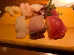 アントニオ小猪木 公式ブログ/寿司も食べて美味しかった 画像1