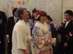 アントニオ小猪木 公式ブログ/日高郁人あびこめぐみ結婚式 画像1