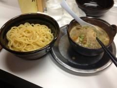 アントニオ小猪木 公式ブログ/徳島東大ラーメンのつけ麺 画像1