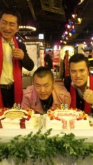 アントニオ小猪木 公式ブログ/猪木ケーキ入場! 画像1