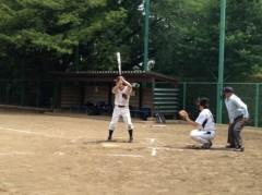 アントニオ小猪木 公式ブログ/真夏の午前の草野球 画像1