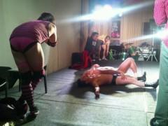 アントニオ小猪木 公式ブログ/徳島の舞台でタッグマッチ 画像1