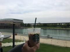 アントニオ小猪木 公式ブログ/富山のスタバで飲みながら 画像1