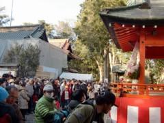 アントニオ小猪木 公式ブログ/玉前神社で豆まき 画像1
