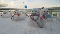 アントニオ小猪木 公式ブログ/雪だるまの歓迎 画像1