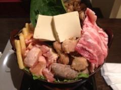 アントニオ小猪木 公式ブログ/加古川で豪快鍋!若翔洋! 画像1