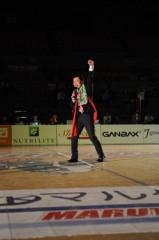 アントニオ小猪木 公式ブログ/バスケットコートでダァー 画像1