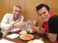 アントニオ小猪木 公式ブログ/永島勝司と密会!? 画像1