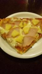 アントニオ小猪木 公式ブログ/ピザにパイン 画像1
