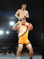 アントニオ小猪木 公式ブログ/タッグ選手権ゴング! 画像1