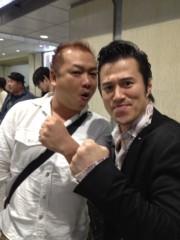 アントニオ小猪木 公式ブログ/大阪で俳優の谷田真吾と 画像1