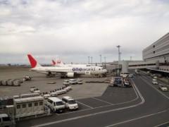 アントニオ小猪木 公式ブログ/再び羽田空港 画像1