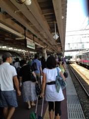 アントニオ小猪木 公式ブログ/混雑の新庄駅 画像1