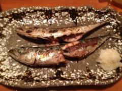 アントニオ小猪木 公式ブログ/サバの丸焼き 画像1