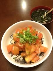 アントニオ小猪木 公式ブログ/トマト丼作りに挑戦! 画像1