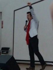 アントニオ小猪木 公式ブログ/今回の舞台挨拶で 画像1