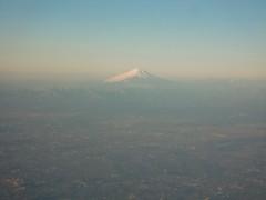 アントニオ小猪木 公式ブログ/空から富士山 画像1