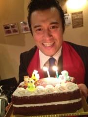 アントニオ小猪木 公式ブログ/42歳誕生日ケーキ贈呈 画像1
