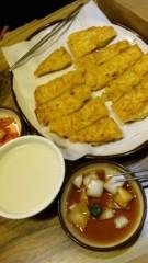 アントニオ小猪木 公式ブログ/まず韓国でチヂミ 画像1