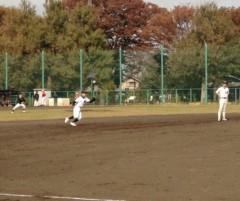 アントニオ小猪木 公式ブログ/2012年11月の草野球 画像1