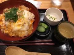 アントニオ小猪木 公式ブログ/秋田名物比内地鶏の親子丼! 画像1