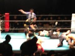 アントニオ小猪木 公式ブログ/第二戦浜田勝利! 画像1