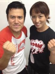 アントニオ小猪木 公式ブログ/長野美香対戦顔合わせ 画像1