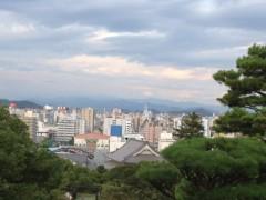 アントニオ小猪木 公式ブログ/高知城からの景色 画像1