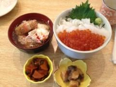 アントニオ小猪木 公式ブログ/函館一花亭たびじで食事! 画像1
