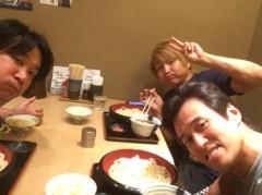 アントニオ小猪木 公式ブログ/久々に三人で食事! 画像1