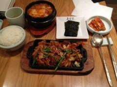 アントニオ小猪木 公式ブログ/韓国料理のランチを 画像1