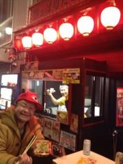 アントニオ小猪木 公式ブログ/高円寺のたこやき店にて 画像1