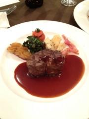 アントニオ小猪木 公式ブログ/ステーキ食べたど! 画像1