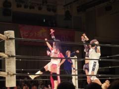 アントニオ小猪木 公式ブログ/ 阿部幸江17周年試合結果! 画像1