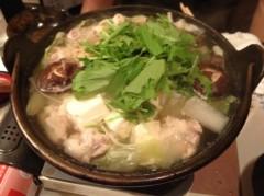 アントニオ小猪木 公式ブログ/復活!水炊きちゃんこ 画像1