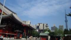 アントニオ小猪木 公式ブログ/浅草寺を散歩 画像1