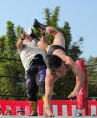アントニオ小猪木 公式ブログ/寝技の後の飛び道具! 画像1
