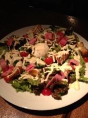 アントニオ小猪木 公式ブログ/沖縄のシーザーサラダ 画像1