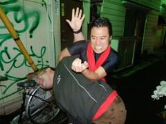 アントニオ小猪木 公式ブログ/コブラツイストの刑? 画像1