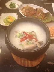 アントニオ小猪木 公式ブログ/参鶏湯リベンジへ 画像1