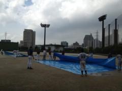 アントニオ小猪木 公式ブログ/試合中突然の大雨 画像1