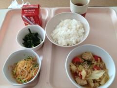 アントニオ小猪木 公式ブログ/病院食初日昼 画像1