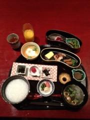 アントニオ小猪木 公式ブログ/朝食はおかゆ 画像1