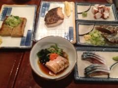 アントニオ小猪木 公式ブログ/魚料理とおにぎり 画像1